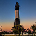 Tybee Light Sunset by Diana Powell