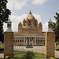 Umaid Bhawan Palace, India by David Davis