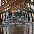 Under The Pier II by Suzanne Gaff