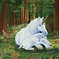 Unicorns Lap by Gail Daley