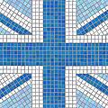 Union Jack Blue by Jane Rix