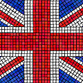 Union Jack Mosaic by Jane Rix