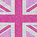 Union Jack Pink by Jane Rix