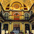 Union Station Lobby Larger Size by Kristin Elmquist