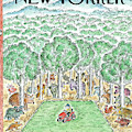 New Yorker July 2nd, 2012 by Edward Koren