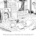 Why Can't You Use Facebook by Ward Sutton