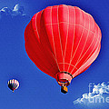 Up Up And Away by Janice Pariza
