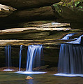 Upper Falls by Jack R Perry