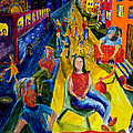 Urban Street People by Walt Brodis