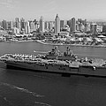 Uss Boxer In San Diego  by Mountain Dreams