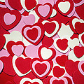 Valentines Day Hearts by Elena Elisseeva