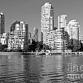 Vancouver Bc Downtown Skyline by Bill Cobb