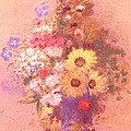 Vase Of Flowers  by Odilon Redon