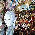Venetian Masks 2 by Ellen Henneke