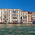Venice Grand Canal View Italy by Michal Bednarek