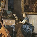 Vermeer, Johannes 1632-1675. A Young by Everett