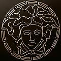 Versace Medusa Head by Peter Virgancz