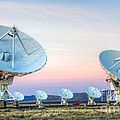 Very Large Array Of Radio Telescopes  by Bob Christopher