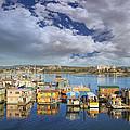 Victoria Bc Fishermans Wharf by Jit Lim