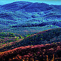 View From Table Rock Mountain by Optical Playground By MP Ray