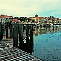 View From The Boardwalk  by K Simmons Luna