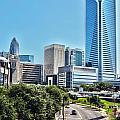 view of Charlotte North Carolina by Alex Grichenko