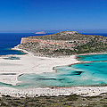 View Of The Balos Beach, Gramvousa by Panoramic Images