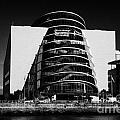 View Of The River Liffey And The Convention Centre Dublin Republic Of Ireland by Joe Fox