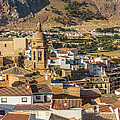 View Of The Town Loja In Granada Province by Dragomir Nikolov