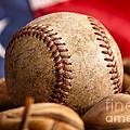 Vintage Baseball by Leslie Banks