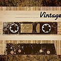 Vintage Cassette by Sara Ponte