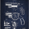 Vintage Pistol Patent From 1892 by Aged Pixel
