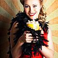 Vintage Woman Eating Popcorn At Movie Premiere by Jorgo Photography - Wall Art Gallery
