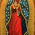 Virgen De Guadalupe - Guadalupe Virgin - Lady Of Guadalupe by Fanny Diaz
