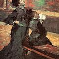 Visit To A Museum by Edgar Degas