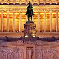 Vittorio Emanuele - Rome by Brian Jannsen