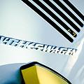 Volkswagen Vw Emblem by Jill Reger