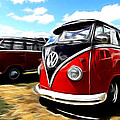Vw Micro Bus by Steve McKinzie