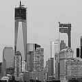 1 W T  C  And Lower Manhatten In Black And White by Rob Hans