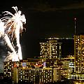 Waikiki Fireworks by Laarni Montano