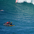 Waimea Bay Takeoff by Kevin Smith