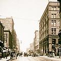 Walnut Street - Kansas City 1906 by Mountain Dreams