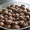 Walnuts In A Basket by Frank Gaertner