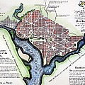 Washington, Dc, Plan, 1792 by Granger