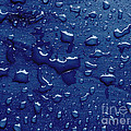 Water Drops On Metallic Surface by Dan Radi