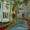 Water Street Edgartown by Edward Ching