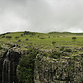 Waterfall Flowing Over The Edge by Panoramic Images