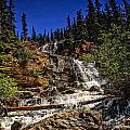 Waterfall In Jasper 1 by Viktor Birkus