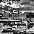 Waterfront At Ascona by Timothy Hacker
