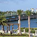 Waterfront Park St Augustine Florida by Bill Cobb
